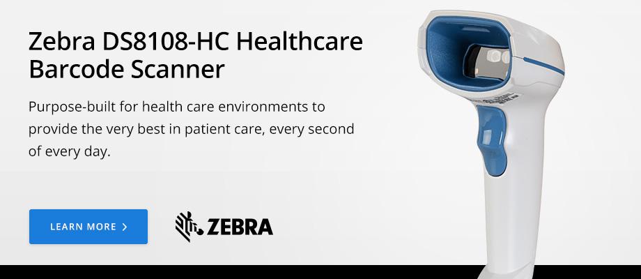 Zebra DS8108-HC Healthcare Barcode Scanner