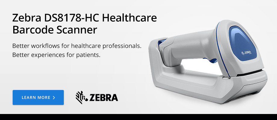 Zebra DS8178-HC Healthcare Barcode Scanner