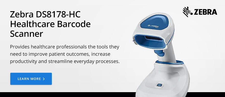 Zebra DS8178-HC Healthcare Barcode Scanner