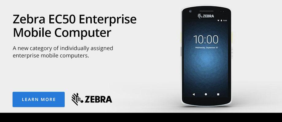 Zebra EC50 Enterprise Mobile Computer