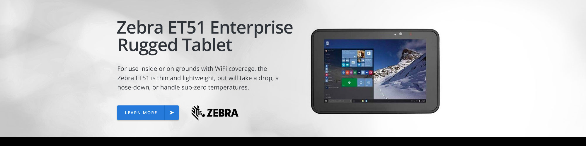 Zebra ET51 Enterprise Rugged Tablet