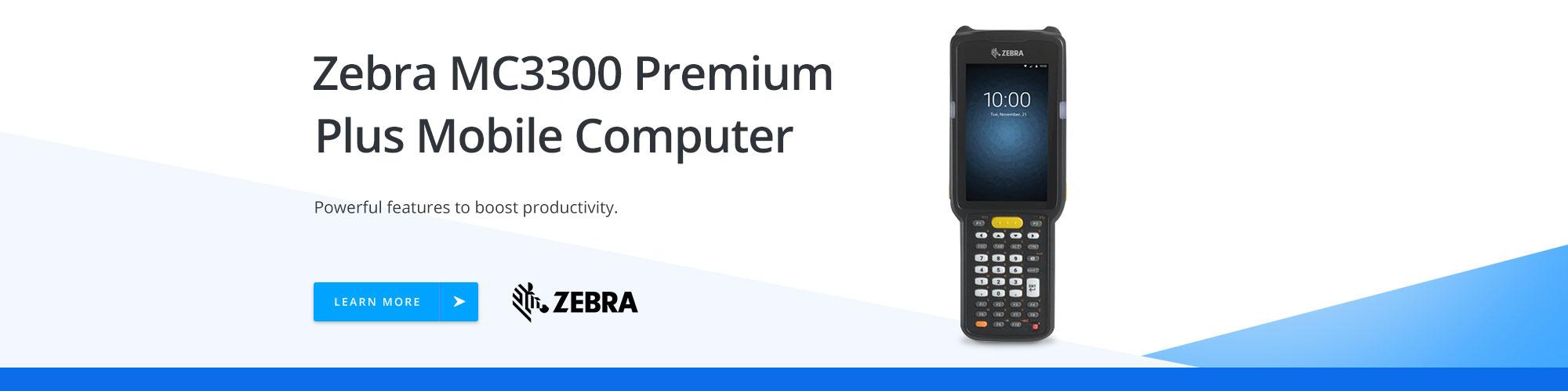 Zebra MC3300 Premium Plus Mobile Computer