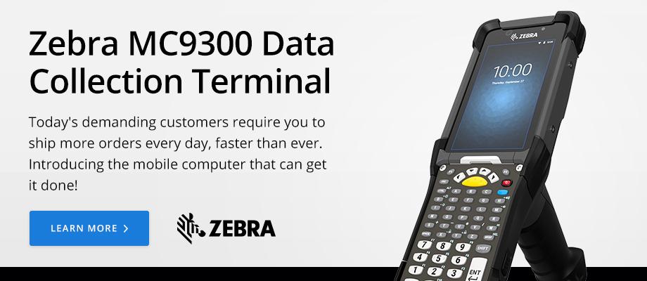 Zebra MC9300 Data Collection Terminal