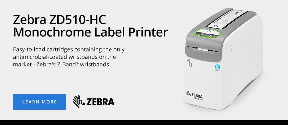 Zebra ZD510-HC Monochrome Label Printer