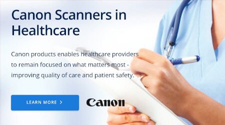 Canon Scanners in Healthcare