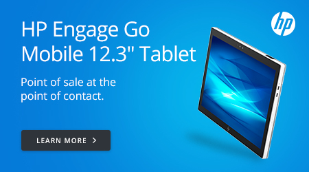 HP Engage Go Mobile 12.3in Tablet