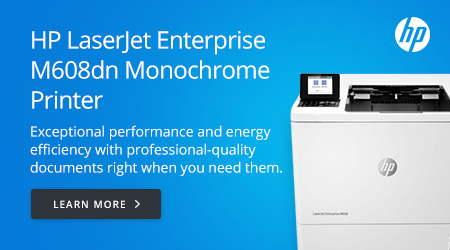 HP LaserJet Enterprise M608dn Monochrome Printer
