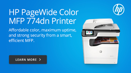 HP PageWide Color MFP 774dn Printer