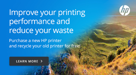 HP Improve your printing performance and reduce your waste