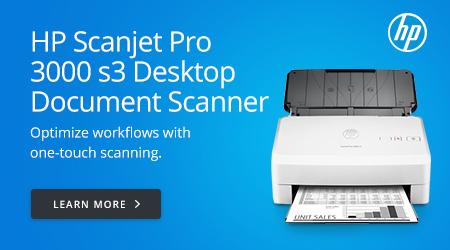 HP Scanjet Pro 3000 s3 Desktop Document Scanner