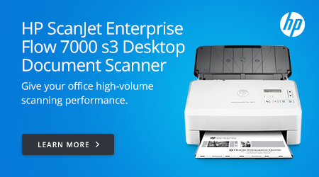 HP ScanJet Enterprise Flow 7000 s3 Desktop Document Scanner