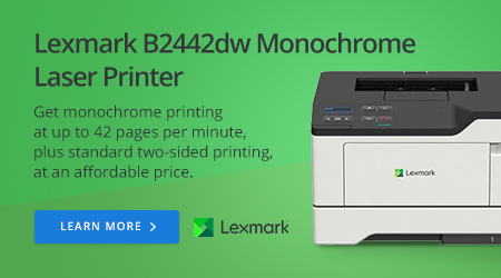 Lexmark B2442dw Monochrome Laser Printer