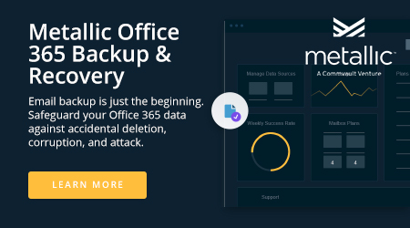 Metallic Office 365 Backup & Recovery