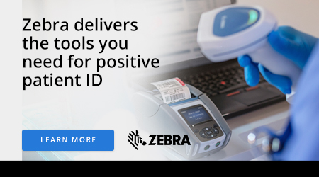 Zebra delivers the tools you need for positive patient ID
