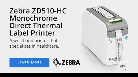 Zebra ZD510-HC Monochrome Direct Thermal Label Printer
