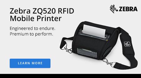 Zebra ZQ520 RFID Mobile Printer