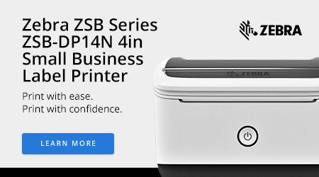 Zebra ZSB Series ZSB-DP14N 4in Small Business Label Printer