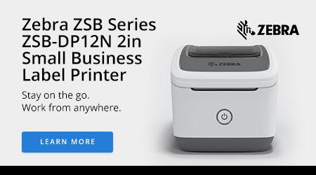 Zebra ZSB Series ZSB-DP12N 2in Small Business Label Printer