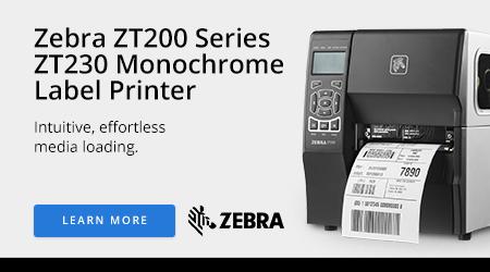 Zebra ZT200 Series ZT230 Monochrome Label Printer