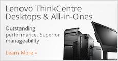 Lenovo ThinkCentre Desktops & All-in-Ones  v2