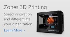 Zones 3D Printing