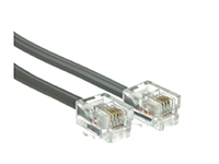 C2G 15ft RJ11 High Speed Internet Modem Cable