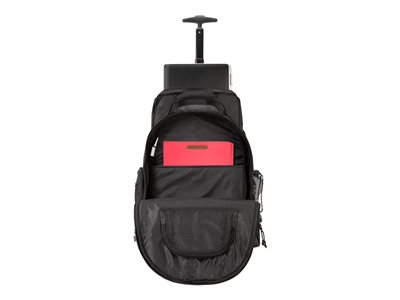 """Targus Compact Rolling Laptop 16/"""" Backpack Black TSB750US BRAND NEW"""