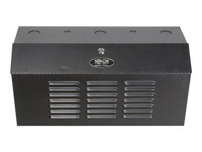 Tripp Lite 2u Wall Mount Low Profile Secure Rack Enclosure Cabinet Vertical