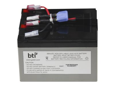 BTI Replacement Battery #48 for APC - UPS battery - lead