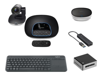 Logitech GROUP Kit with Vision Nuc - video conferencing kit
