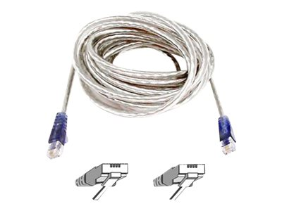 Belkin High Speed Internet Modem Cable phone cable - 15 ft - ice ...