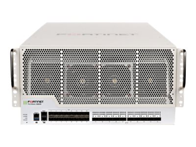 Fortinet FortiGate 3980E - security appliance - with 1 year