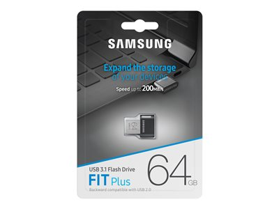 Samsung Fit Plus Muf 64ab Usb Flash Drive 64 Gb Muf 64ab Am