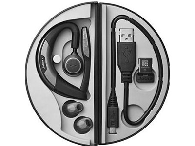 Jabra Motion Uc Bluetooth Headset With Travel And Charge Kit 6640 906 305