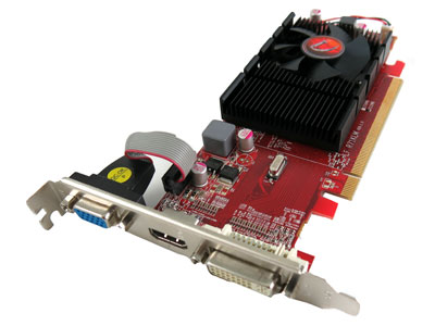 VisionTek Radeon HD 4350 512MB DDR2 Dual Monitor Graphics
