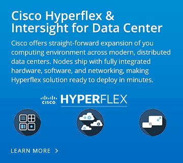 Cisco Hyperflex & Intersight for Data Center