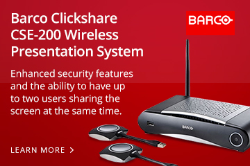 Barco Clickshare CSE-200 Wireless Presentation System