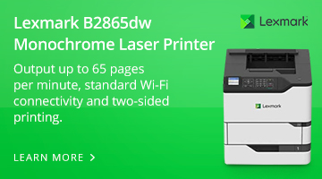 Lexmark B2865dw Monochrome Laser Printer