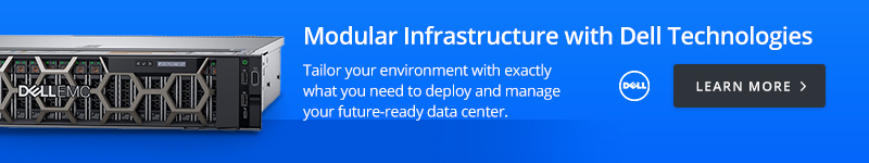 Modular Infrastructure with Dell Technologies