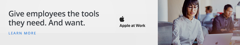 Apple at Work: Give employees the tools they need. And want.