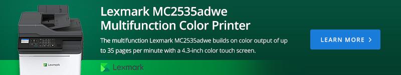 Lexmark MC2535adwe Multifunction Color Printer