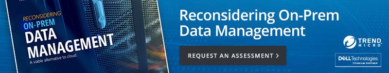 On-Prem Data Management